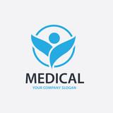 Pharmacy Logo. Medical logo. Green and eco logo vector template.