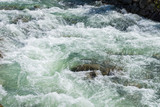 Fototapety image of flowing water in the river