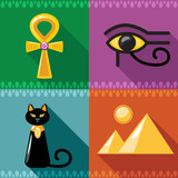 Egypt Icons in vector