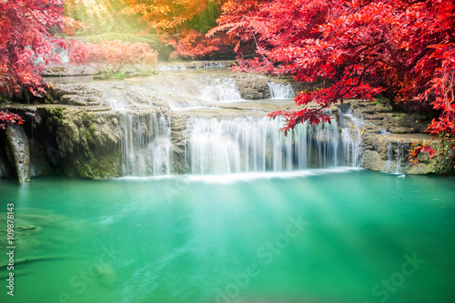 Beautiful waterfall © totojang1977