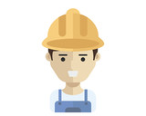 People At Work Avatar -  Construction Worker