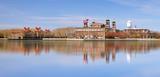 Ellis Island in New York harbor - 109912985