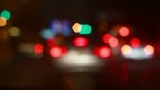 Bokeh light city background