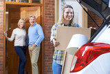 Adult Daughter Moving Out Of Parent