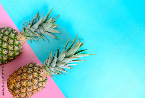 Pineapple background - 109939326