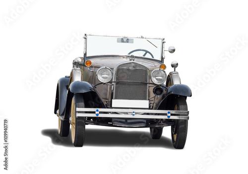 Poster schöner alter antiker Oldtimer, vintage classic car