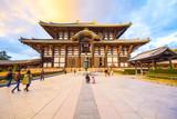 Główna sala świątyni Todai-ji w Nara w Japonii.
