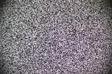 Fototapety TV white noise on lcd screen