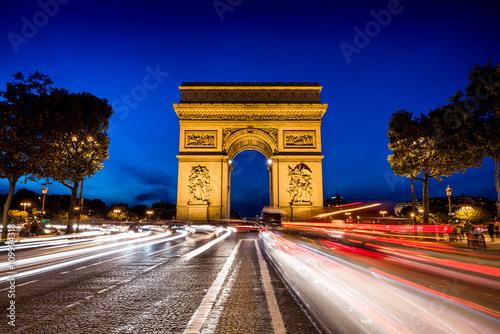 Fototapeta Arc de Triomph, Triumphbogen in Paris