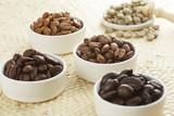 Fototapety いろいろな種類のコーヒー豆