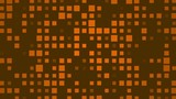 brown abstract background and squares, loop