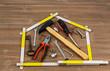 Werkzeug in der Werkstatt - 110054542