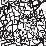 Fototapety Graffiti background seamless pattern