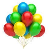Fototapety Colorful balloons