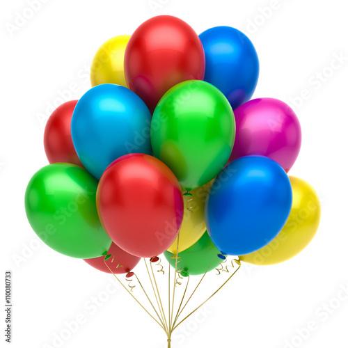 Zdjęcia na płótnie, fototapety, obrazy : Colorful balloons