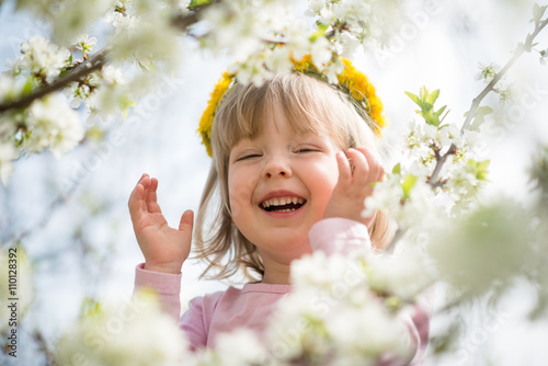 Spring time - flower girl