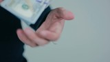 Debt collector received money from the debtor.  HD.