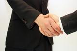 ビジネスマンの握手 Businessman shaking hands