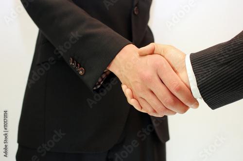 Poster ビジネスマンの握手 Businessman shaking hands