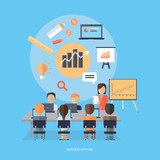 Business Seminar Concept