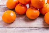 oranges on wood