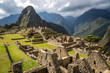 Nice view of Machu Picchu, Peru, South America