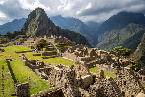 Nice view of Machu Picchu, Peru, South America Poster