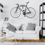 Modern space and bike