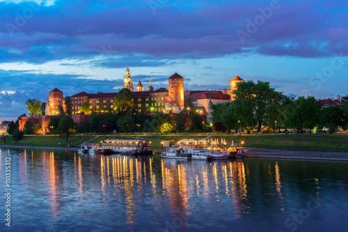 Foto op Plexiglas Krakau Wawel hill in Krakow, Poland