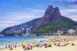 Quadro Ipanema Beach in Rio de Janeiro, Brazil.