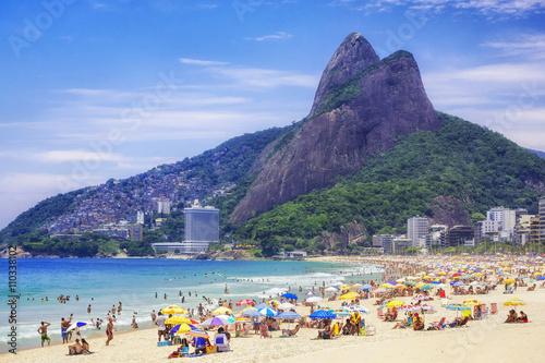 fototapeta na ścianę Ipanema Beach in Rio de Janeiro, Brazil.
