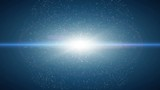 Dust particle explosion, Light ray effect. UHD 4k 3840x2160.