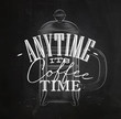 Poster its coffee time