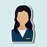 business person avatar  design