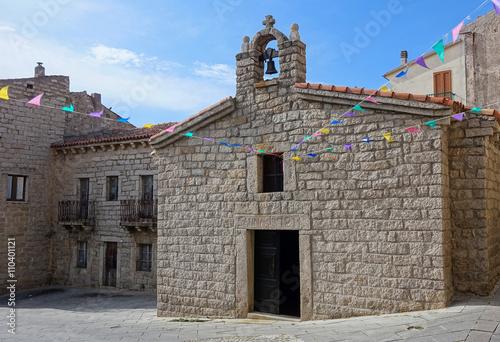 Saint Anna Church in Arzachena Sardinia Poster