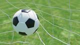Klassischer Fußball im Tor - 110401770
