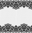 Seamless lace pattern, flower vintage vector background. - 110424959