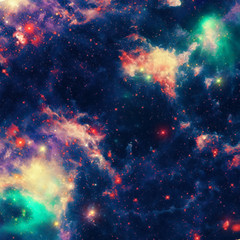 Space beautiful nebula background