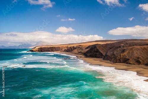 Zdjęcia na płótnie, fototapety, obrazy : Fuerteventura Pared beach Canary Islands Spain
