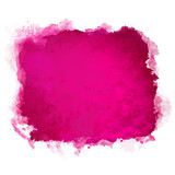 Fototapety Watercolor paint stain isolated
