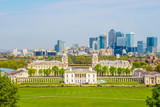 Cityscape View from Greenwich of London