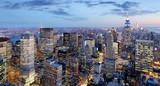 New York city at night, Manhattan, USA - 110516305