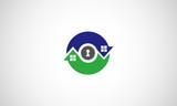 home arrow logo. house logo. circle home logo