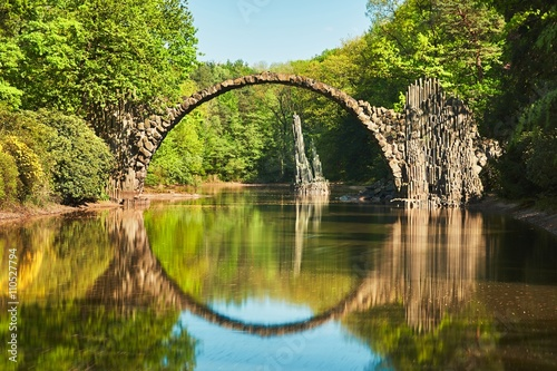fototapeta na ścianę Arch bridge in Germany
