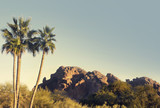 Camelback Mountain overlooking Phoenix,Az,USA