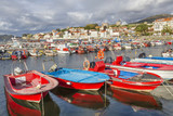 Fishing boats on Carril harbor