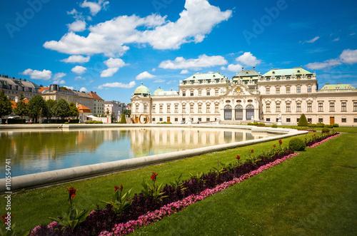 landmark Belvedere is a historic building complex in Vienna Aust