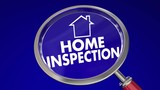 Home Inspection Magnifying Glass House Safety Check 3d Animation