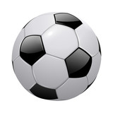 soccer ball isolated - 110574548