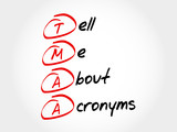 TMAA - Tell Me About Acronyms, acronym concept